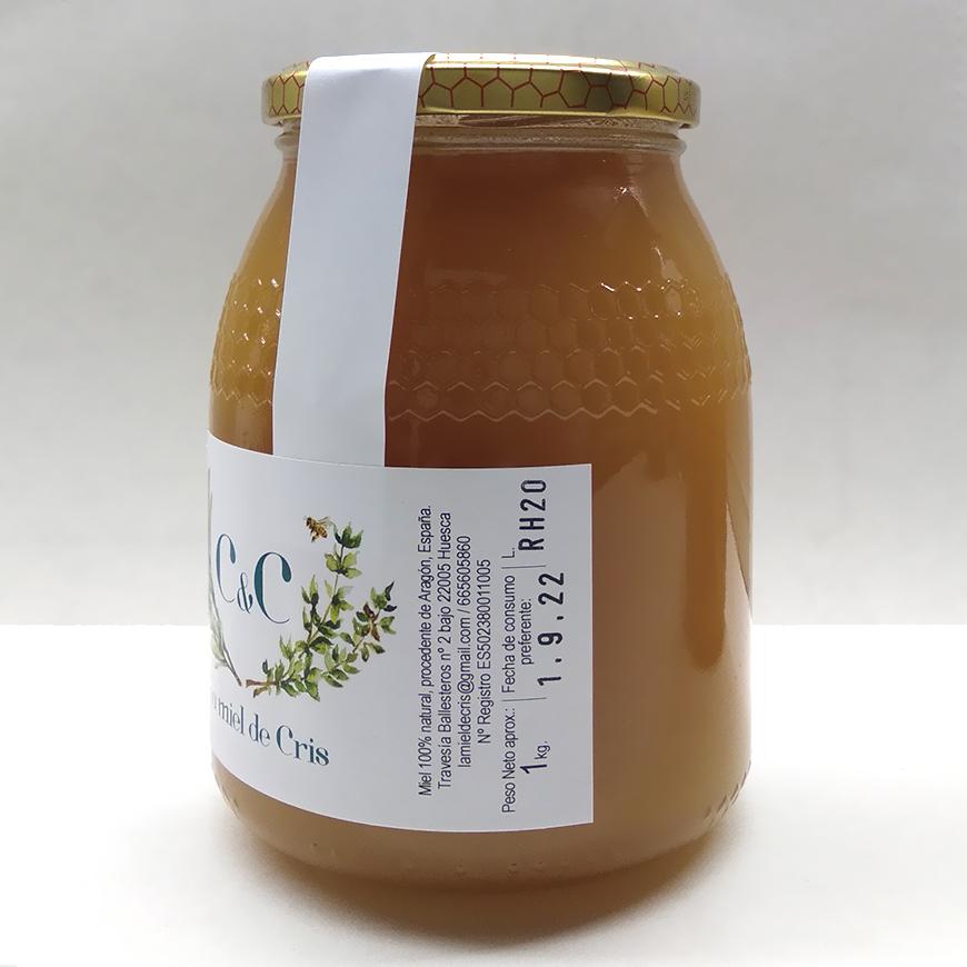 Miel cruda de romero